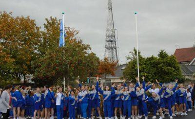 Active school flag