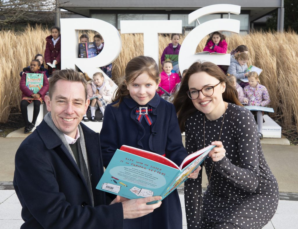Teresian School Class 3 at RTE with Ryan Tubridy and Niamh McManus
